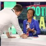 JULIET BAWUAH hosts Football Planet on Euronews' Africanews