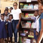 Victoria's Haven: The Victoria Michael Foundation Donates a Complete Library to The SAFE HEAVEN ORPHANAGE – photos speak!