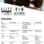 Ghana, Africa, World…Kindly SEE the schedule for the GLITZ AFRICA FASHION WEEK '16