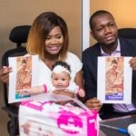 Oh LORDE! Kafui Danku & Daughter seal a mind blowing ROYAL MONOPOLY DIAPER 18-months deal worth about $100K
