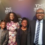 Though it's getting hotter as we approach June 6, but let's cool it started with these photos of KWESI NYANTAKYI's family