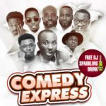 It's 'goodbye' but not 'aurevoir' to Eddy's Pizza as Cockpit Bar & Lounge inside the Achimota Mall takes over DKB's COMEDY EXPRESS