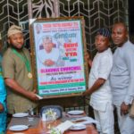 New Year, Another Gong, Same Man: Amb. OLAKUNLE CHURCHILL, CEO Big Church Group honored with the YORUBA YOUTH ASSEMBLY PRESTIGIOUS AWARD – photos speak!