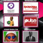 GHANA ENTERTAINMENT AWARDS, USA: YemmeYbaba's YTAINMENT nominated alongside Ameyaw Debrah, Nkonkonsa, RonnieIsEverywhere, Pulse Ghana & Zionfelix in the 2019 Best Entertainment Blog of the Year