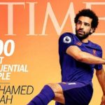 MO SALAH is on the cover of TIME Magazine