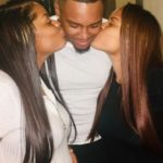 DOUBLE BLESSINGS: Young Man impregnates Twin Sisters + flaunts both Online with their protruding Baby Bumps