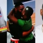 BBNaija: Two housemates caught kissing their hearts out