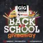 GIG Logistics Ghana partners with Aim Higher Africa to launch the Back-2-School Giveaway for 1000 children in low income communities in Accra