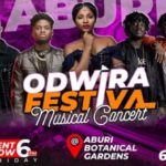 October 12, ODWIRA FESTIVAL @ the Aburi Botanical Gardens promises to be a concert of never-ending narratives…as Kidi, Kuami Eugene, Adina, others are poised to give an everlasting party