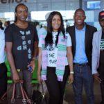Linda Ikeji Arrives in Ghana to speak at 2019 Ghana Bloggers Summit