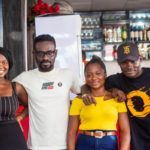 Celebrity Blogger KOBBY KYEI gives his FANS a day never to forget at the plush SWEET AROMA RESTAURANT…photos speak!