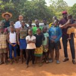 Independent Film maker, HARRY BENTIL & his amazing WIFE put smiles on the faces of their 'Friends' at CHRISTIAN FAITH FOSTER HOME