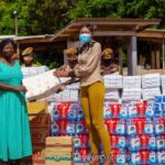 Exercise of Significant uplift: THE MERCY HEART FOUNDATION under the auspices of Caroline Group of Companies donates to the NSAWAM FEMALE PRISON – photos speak!