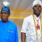 #EndSARS: Ooni of Ife meets Obasanjo….details of the meeting emerge