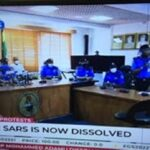 Victory For Nigerian Youths As IGP Mohammed Adamu Dissolves FSARS after a rigorous #EndSARS campaign