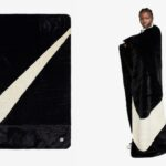 With a Giant Swoosh…NIKE is releasing its cozy Fleece Blanket