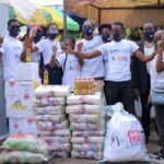 LINFRA GHANA LTD & FASHION CONNECT AFRICA partner in the 1 MILLION MASKS PROJECT before 2020 says goodbye
